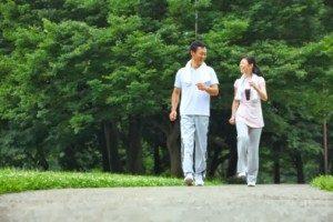 brisk-walking