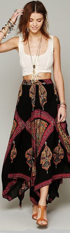 Boho Chic - A Popular Fashion Style This Summer ...
