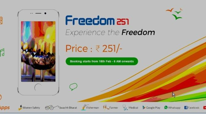 Booking for Rs 251 Smartphones begins at 6:00 AM on Feb 18