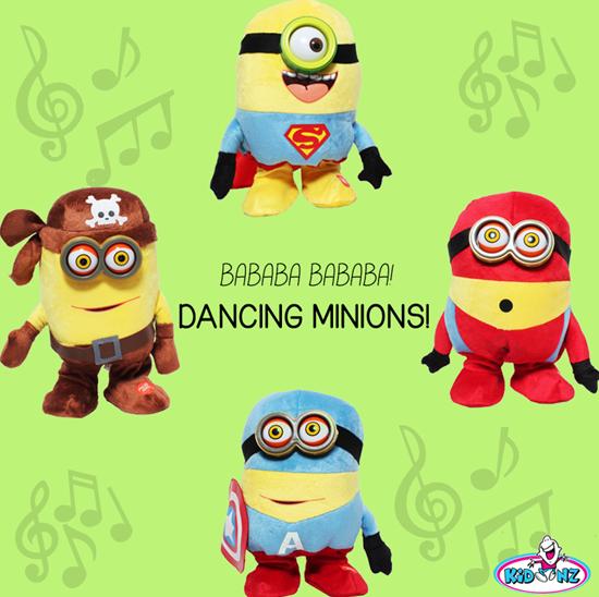 kidoonz dancing minions