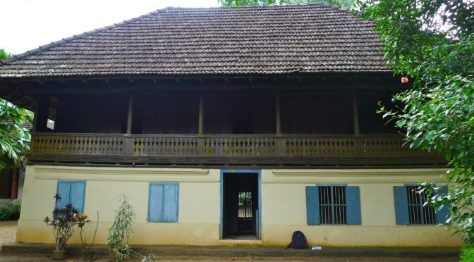 Journey of a Traditional Kerala House from Kerala to Delhi